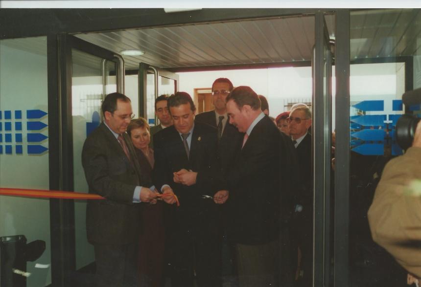 Inauguración del Centro Medico en 2002 - PSOE